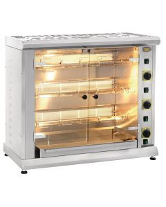 This is an image of a Roller Grill LPG Rotisserie RBG 120