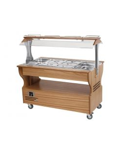 This is an image of a Roller Grill Heated Salad Bar Light SB40F