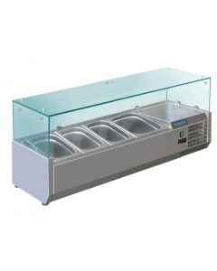 This is an image of a Polar Refrigerated Servery Topper 4 GN