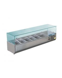 This is an image of a Polar Refrigerated Servery Topper 6 GN