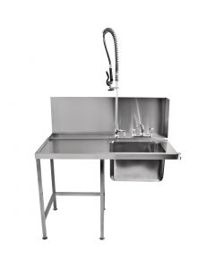 This is an image of a Classeq Pass-Through Table with Spray Mixer T11SENL