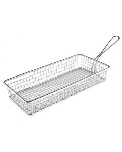 This is an image of a Olympia Rectangular Presentation Basket StSt - 45(H)x260(W)x130mmD