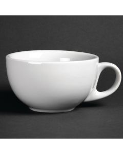 This is an image of a Athena Hotelware Cappuccino Cup - 285ml 10oz (Box 12)