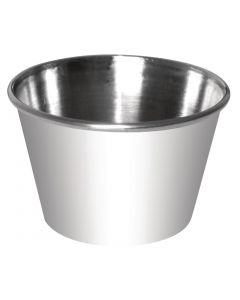 This is an image of a Sauce Cup StSt - 115ml 4oz (Box 12)