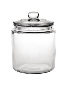 This is an image of a Olympia Biscotti Jar with lid - 38Ltr (Box 1)