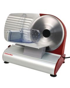 This is an image of a Caterlite Meat Slicer - Light Duty 200watt 190mm Blade Includes 2 Blades