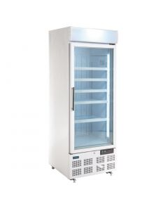 This is an image of a Polar Display Freezer with Light Box 412Ltr