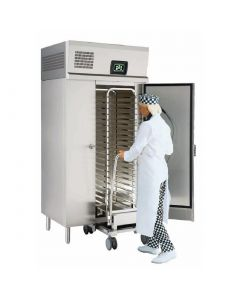 This is an image of a Foster 60Kg Roll-In Blast Chiller Integral Cabinet RBC20-60