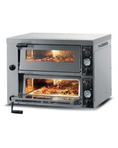This is an image of a Lincat Double Deck Pizza Oven PO425-2