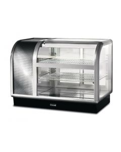 This is an image of a Lincat Seal 650 Curved Refrigerated Self Service Merchandiser C6R105SL