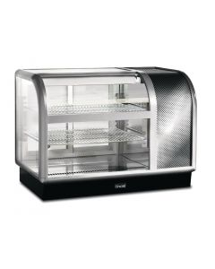 This is an image of a Lincat Seal 650 Curved Refrigerated Back Service Merchandiser C6R105BL