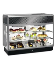 This is an image of a Lincat Seal 650 Rectangular Refrigerated Back Service Merchandiser 1250mm