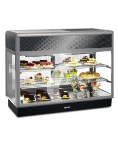 This is an image of a Lincat Seal 650 Rectangular Refrigerated Self Service Merchandiser D6R125S
