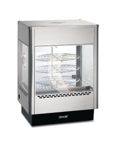 This is an image of a Lincat Seal Pizza Warmer with Rotating Rack UM50D