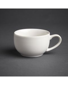 This is an image of a Olympia Cafe Coffee Cup White - 228ml 8oz (Box 12)