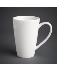 This is an image of a Olympia Cafe Latte Cup White - 454ml 16oz (Box 12)