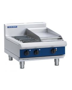 This is an image of a Blue Seal Evolution Cooktop 2 Element Griddle Electric 600mm E514C-B