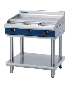 This is an image of a Blue Seal Evolution Cooktop Griddle Electric on Stand 900mm E516A-LS