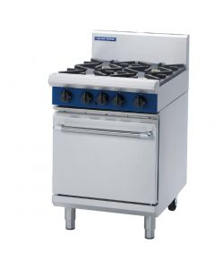 This is an image of a Blue Seal Evolution 2 BurnerGriddle Static Oven LPG 600mm G504CL