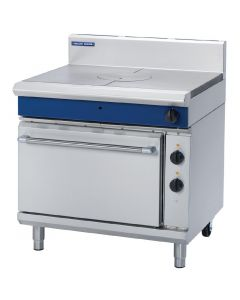 This is an image of a Blue Seal Evolution Target Top Electric Static Oven Nat Gas 900mm GE570N