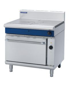 This is an image of a Blue Seal Evolution Target Top Electric Convection Oven Nat Gas 900mm GE576N