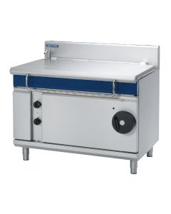 This is an image of a Blue Seal Evolution Tilting Bratt Pan Manual Tilt  120Ltr E580-12