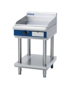 This is an image of a Blue Seal Evolution Chrome Griddle with Leg Stand Electric 600mm EP514LS