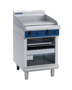 This is an image of a Blue Seal Evolution Griddle Toaster LPG 600mm G55TL