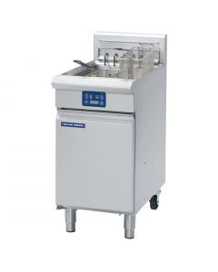 This is an image of a Blue Seal Evolution Single Tank Fryer with Elec Controls Electric 450mm E43E