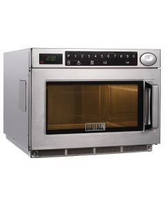 This is an image of a Buffalo Programmable Commercial Microwave Oven 1850W
