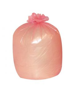 This is an image of a Jantex Garbage Bags Red 80 Litre Pack of 200