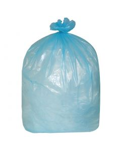 This is an image of a Jantex Garbage Bags Blue 80 Litre Pack of 200