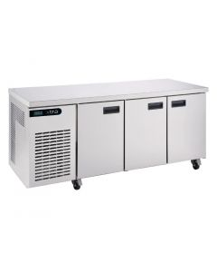 This is an image of a Foster Xtra 3 Door Counter Fridge XR3H