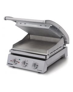 This is an image of a Roband Contact Grill 6 Slice Smooth Plates 2200W GSA610S