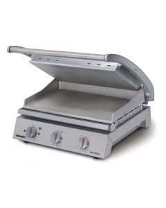 This is an image of a Roband Contact Grill 8 Slice Smooth Plates 2990W GSA815S