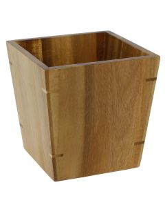This is an image of a Olympia Acacia Riser Small - 100x100x100mm 4x4x4""
