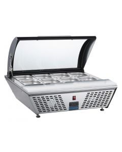 This is an image of a Polar Refrigerated Countertop Servery with Chopping board