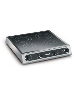 This is an image of a Lincat Lynx 400 Four Zone Table Top Induction Hob (Direct)