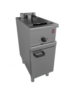 This is an image of a Falcon 350 Series Freestanding Single Pan Twin Basket Electric Fryer E35036