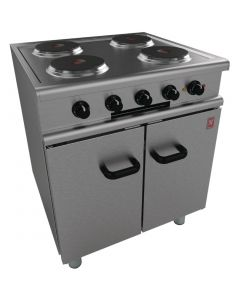 This is an image of a Falcon 350 Series 4 Hotplate Electric Oven Range on Feet E35030