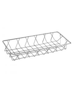 This is an image of a Olympia StSt Wire Display Basket - 350x150x50mm