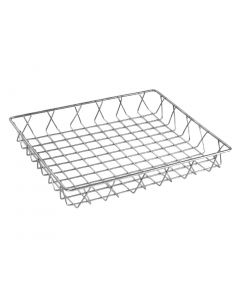 This is an image of a Olympia StSt Wire Display Basket - 350x300x50mm