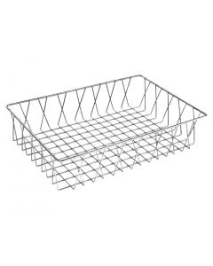 This is an image of a Olympia StSt Wire Display Basket - 450x300x100mm