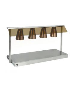 This is an image of a Parry Carvery Servery Lamp Unit 4 Lamp 18W (Direct)