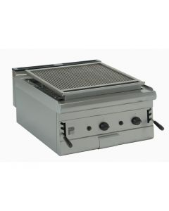 This is an image of a Parry Table Top Chargrill 600mm Wide LPG Gas (Direct)