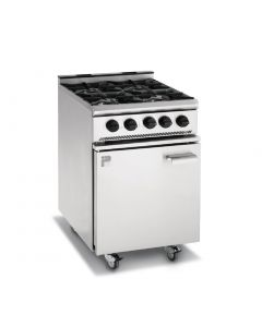 This is an image of a Parry 4 Burner Oven Range Natural Gas (Direct)