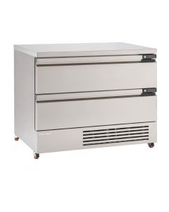 This is an image of a Foster FlexDrawer 2 Drawer Counter FridgeFreezer FFC6-2