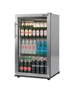 This is an image of a Autonumis Popular 1 Door Back Bar Cooler StSt A209193