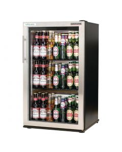 This is an image of a Autonumis EcoChill 1 Door Back Bar Cooler StSt Door A209196