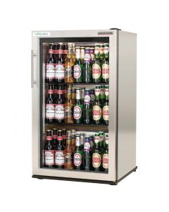 This is an image of a Autonumis EcoChill 1 Door Back Bar Cooler StSt A20983